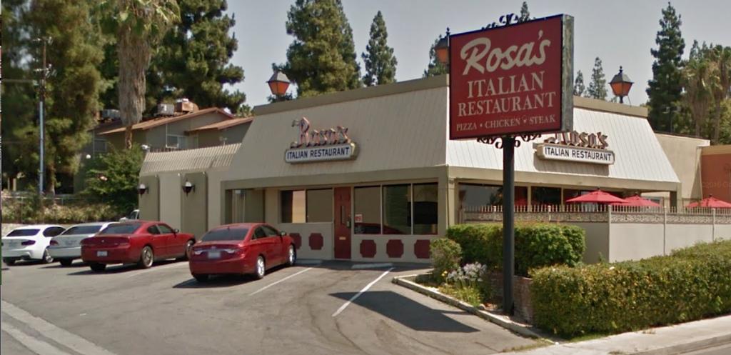 Rosas Menu Bakersfield, Rosas Italian Restaurant Menu Bakersfield